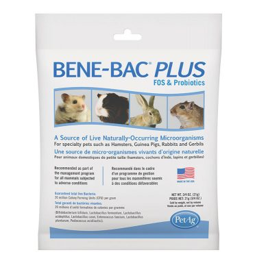 Bene Bac Plus Small Animal Pwd 3 4Oz 99574 1